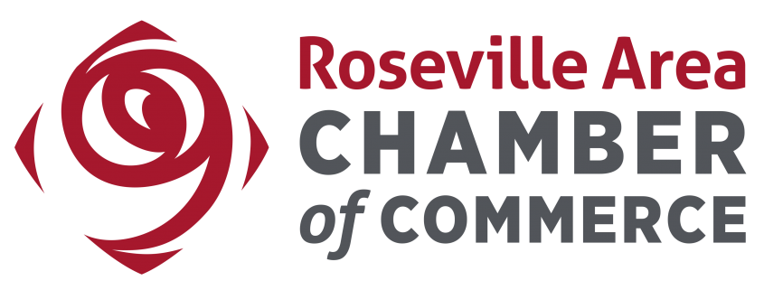 Roseville Are Chamber of Commerce logo